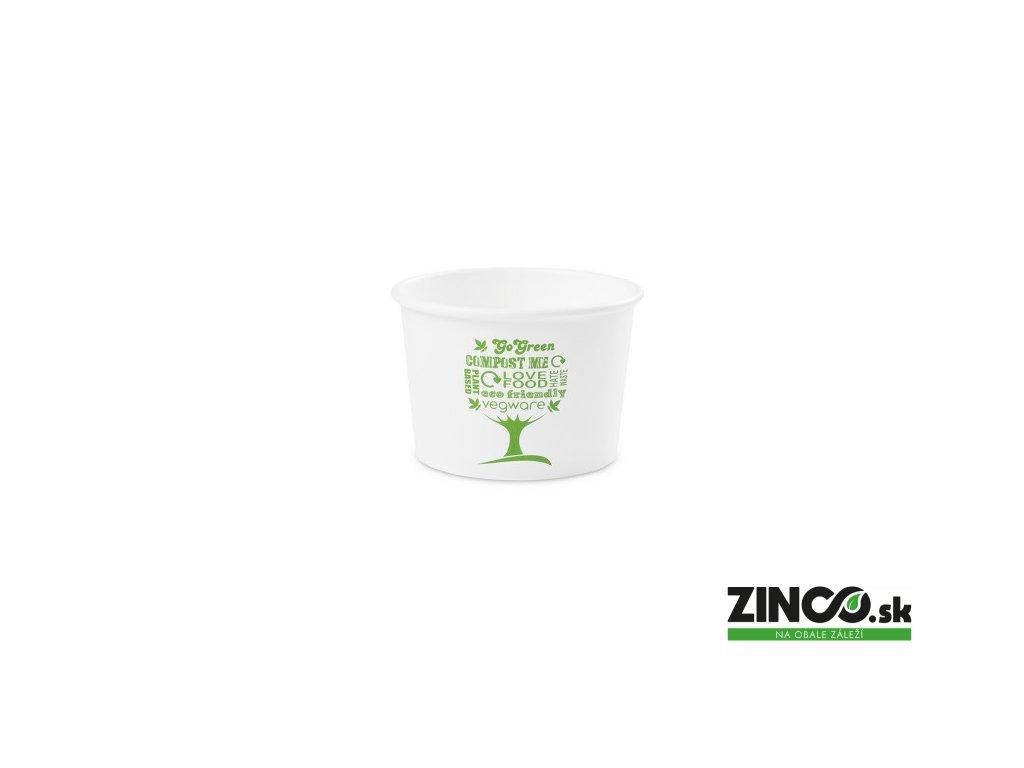 SC-G08 – Miska na zmrzlinu s potlačou, ø90mm, 235 ml (50 ks)