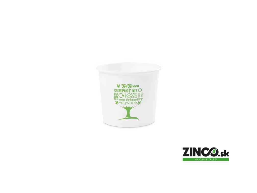 SC-G10 – Miska na zmrzlinu s potlačou, ø90mm, 295 ml (50 ks)
