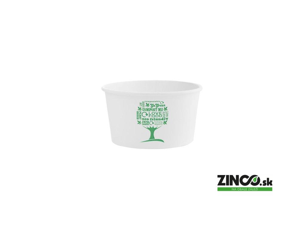 SC-G12 – Miska na zmrzlinu s potlačou, ø115mm, 356 ml (25 ks)