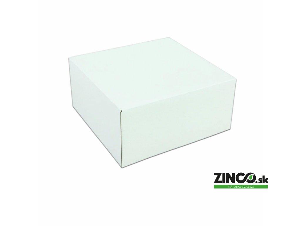 P942 – Krabice na tortu, 25x25x12 cm (50 ks)