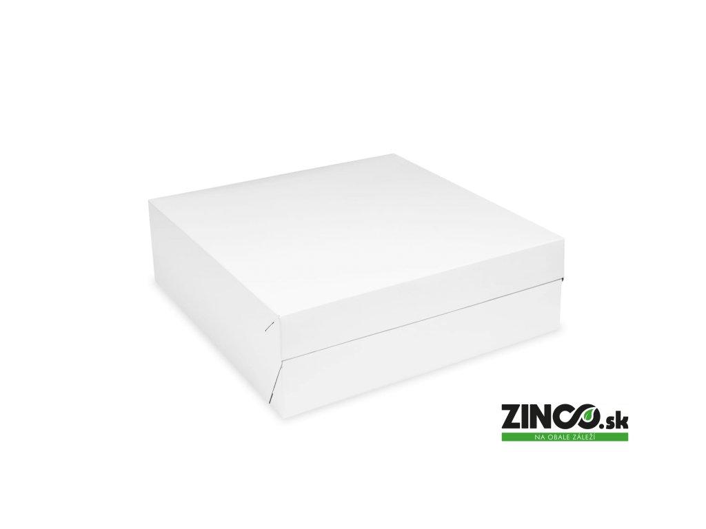 71730 – Krabice na tortu, 30x30x10 cm (50 ks)