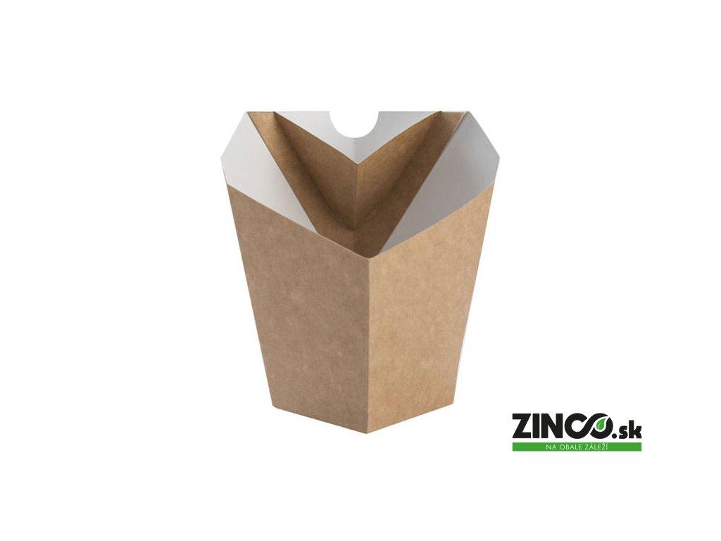 FRKD – Papierový kornútok na hranolky, veľký