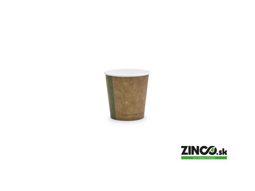 KV-4 – Papierové poháre na kávu Craft, 120 ml (50 ks)