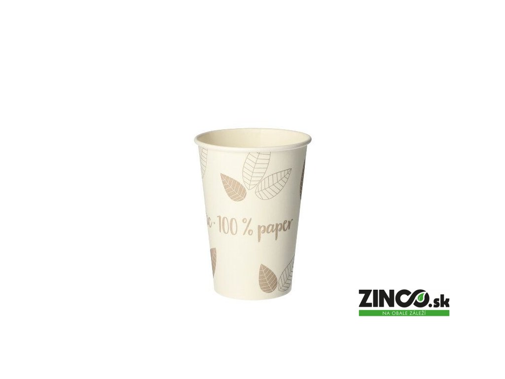 """88237 – Papierové poháre na kávu """"Eko kolekcia"""", 180 ml (80 ks)"""