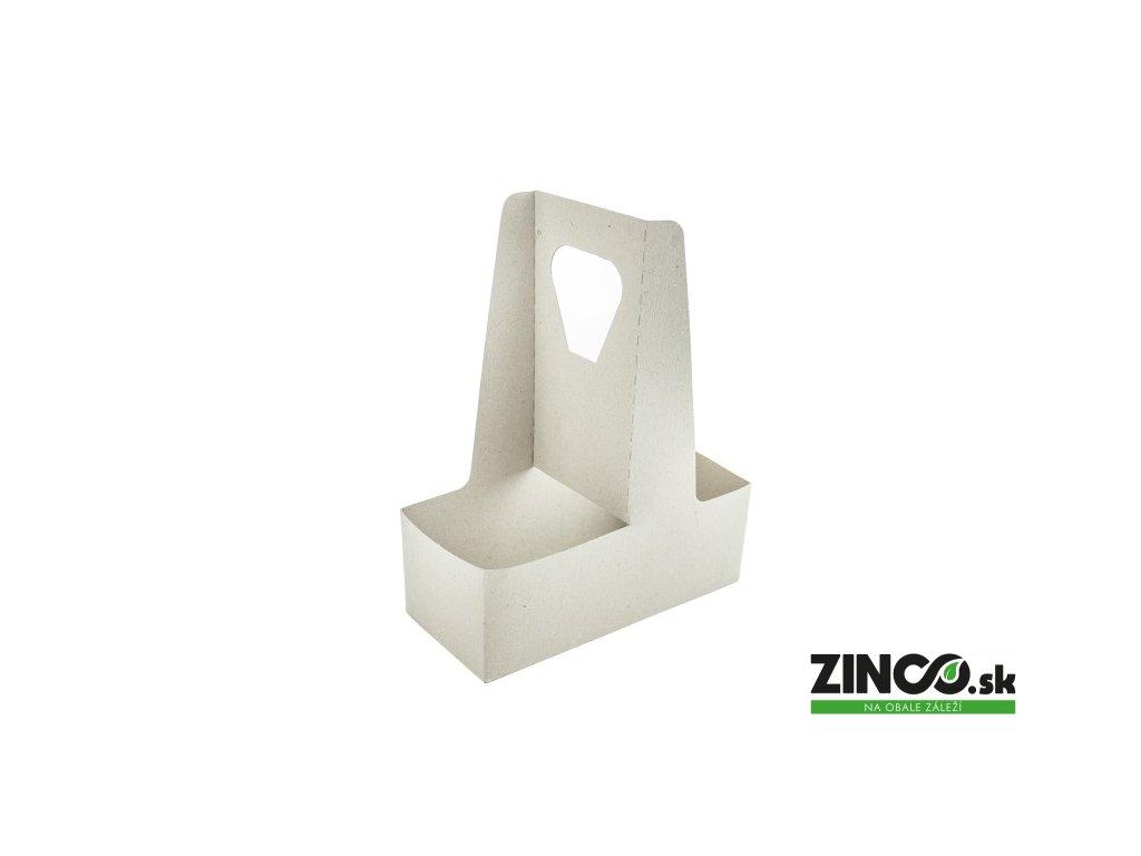 VHC-02 – Kartónový držiak na 2 poháre (250 ks)