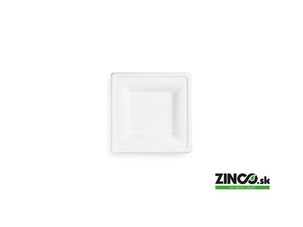 3221 – Plytký tanier štvorcový, 15x15 cm (50 ks)