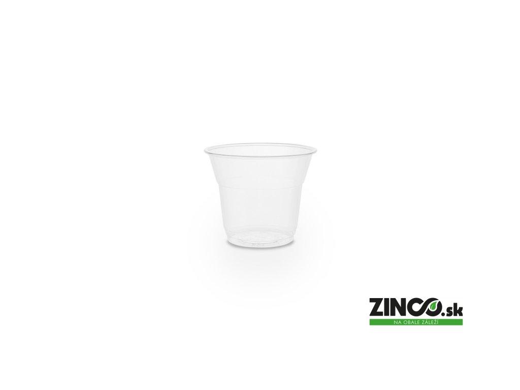 R150Y – Bio plastové poháre na dezerty, 110 ml (50 ks)