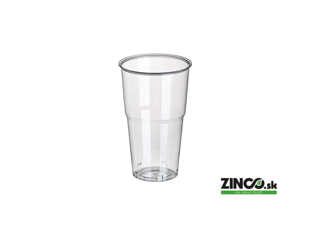 11161 – Bio plastové poháre, 500 ml (60 ks)