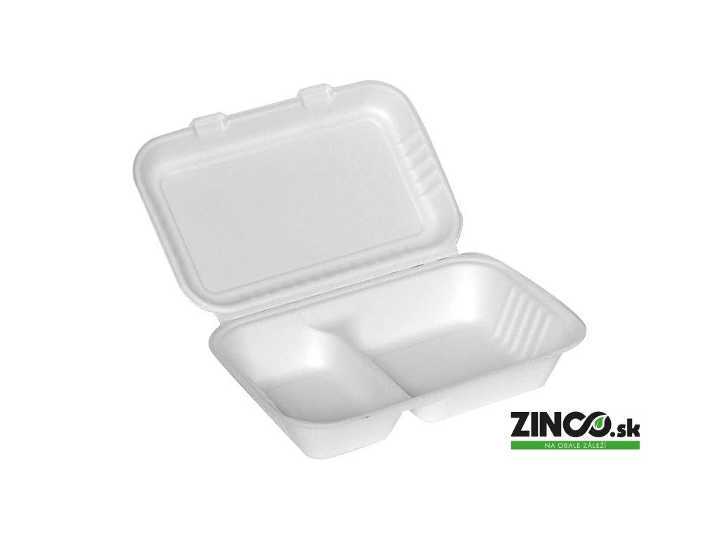 38195 – Gastro box, 2-dielny (1000 ml)
