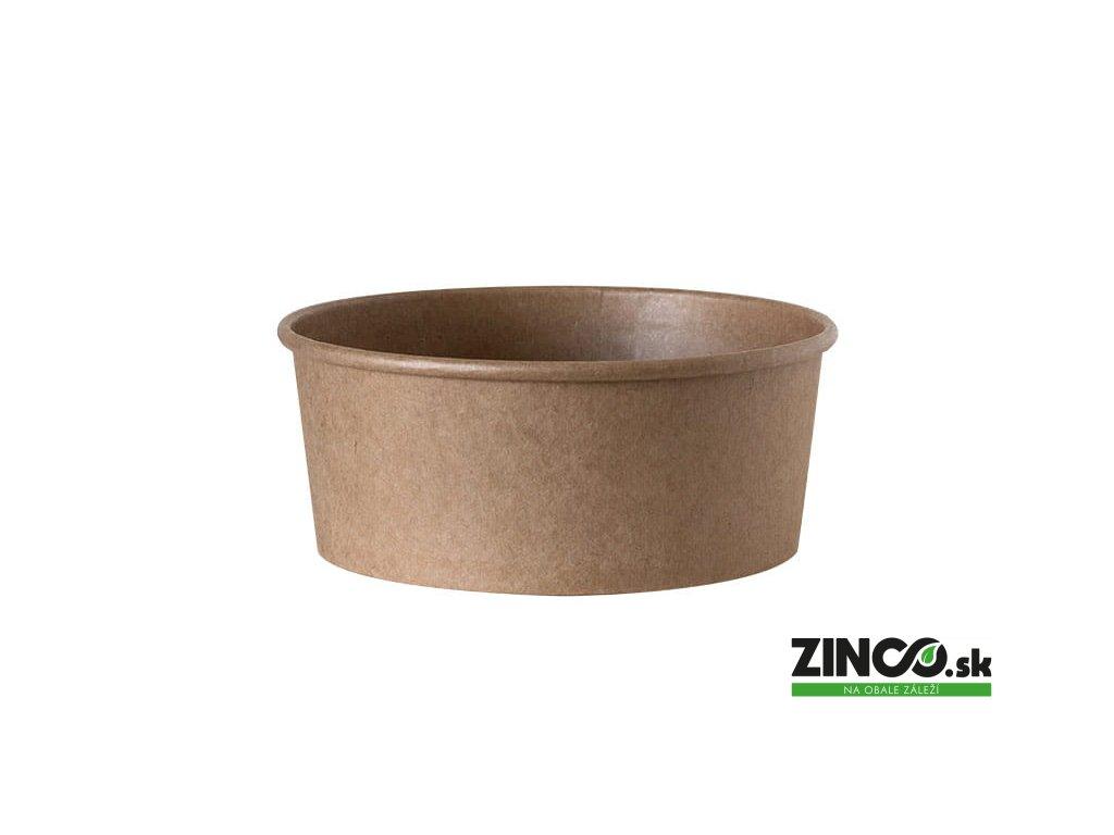 37669 – Papierová miska na jedlo, 750 ml (50 ks)