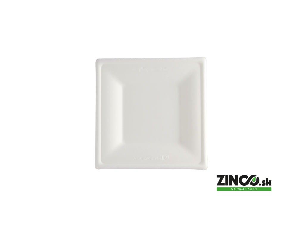 3222 – Plytký tanier štvorcový, 25x25 cm