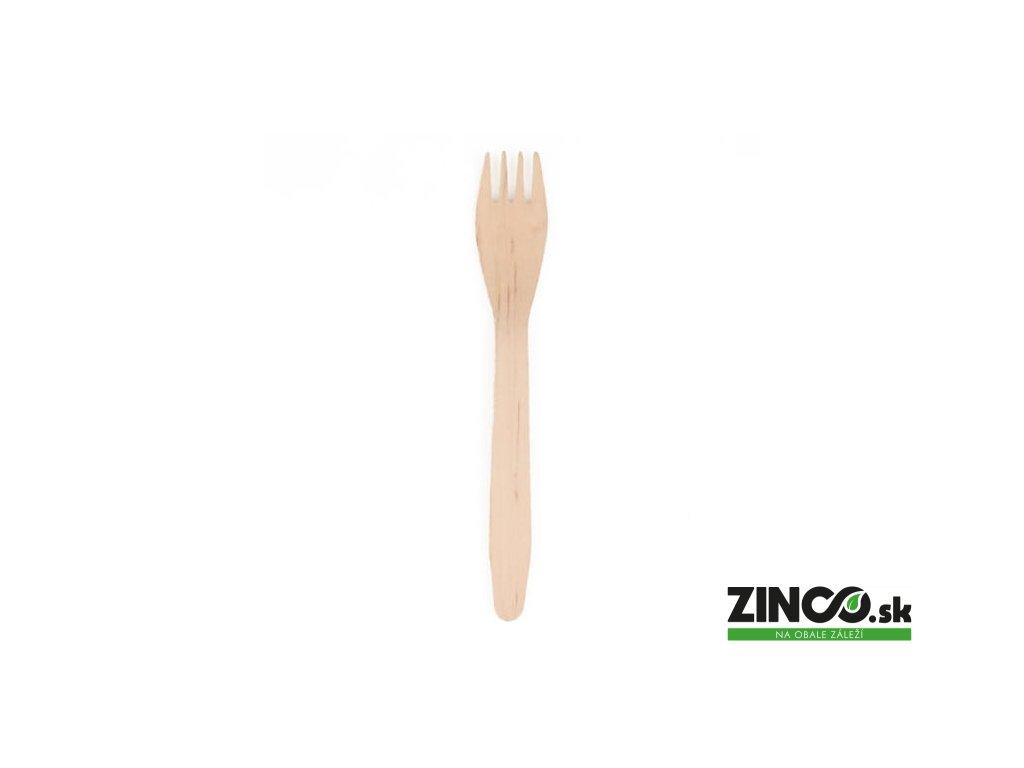 90101 – Jednorazová drevená vidlička, 16,5 cm