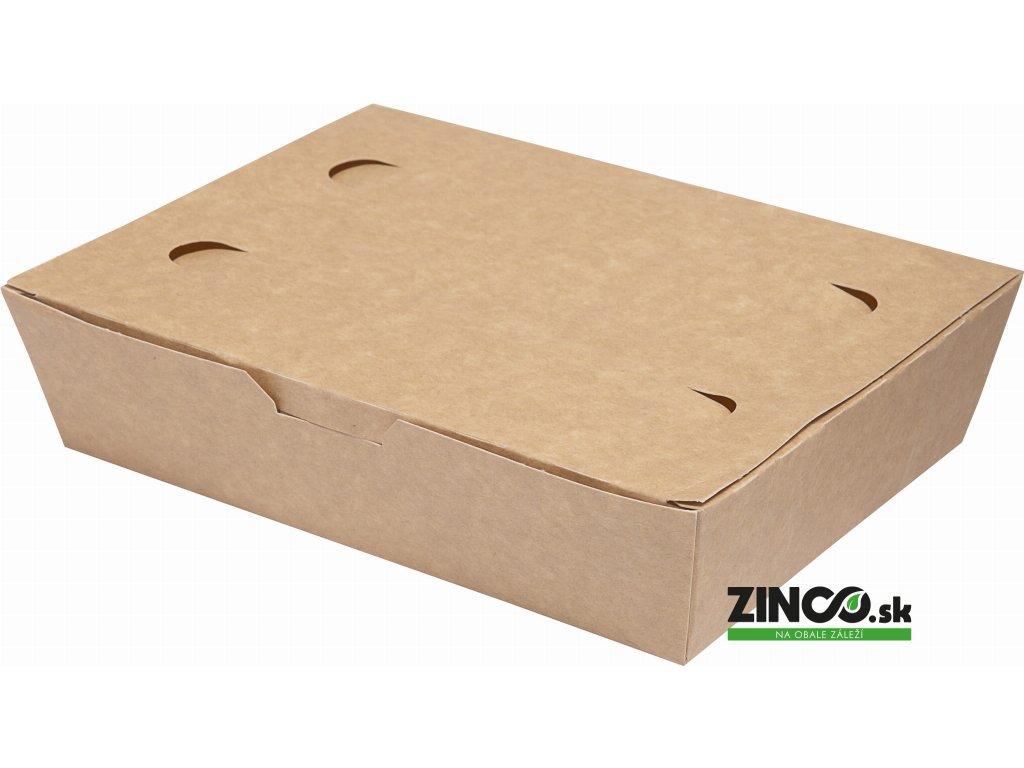 7520145 – Gastro box papierový, veľký 950 ml (100 ks)