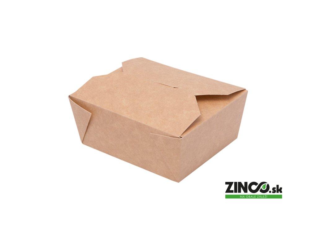 7520146 – Gastro box papierový, veľký 1600 ml