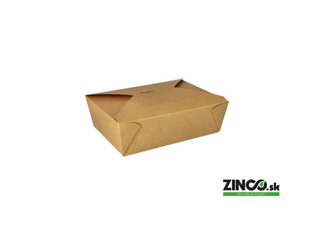 87613 – Gastro box papierový, veľký 2000 ml (50 ks)