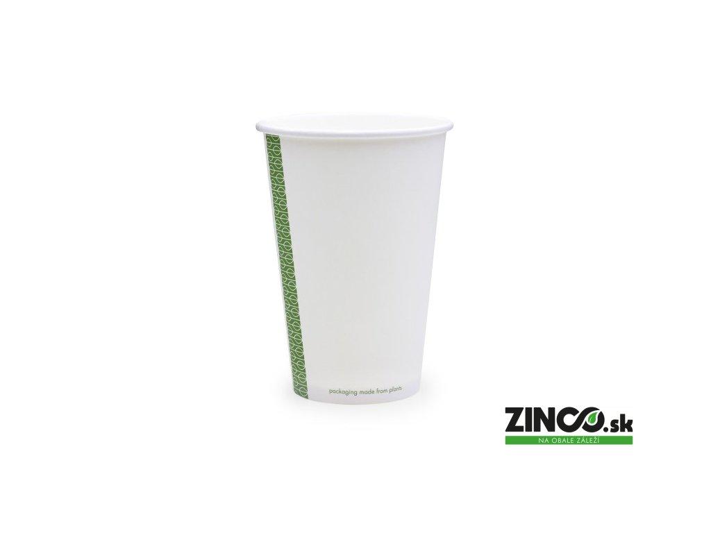 LV-16 – Papierové poháre biele, 500 ml (50 ks)