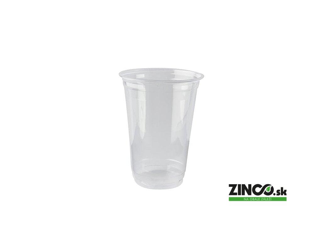 61871 – Bio plastové poháre, 400 ml (70 ks)