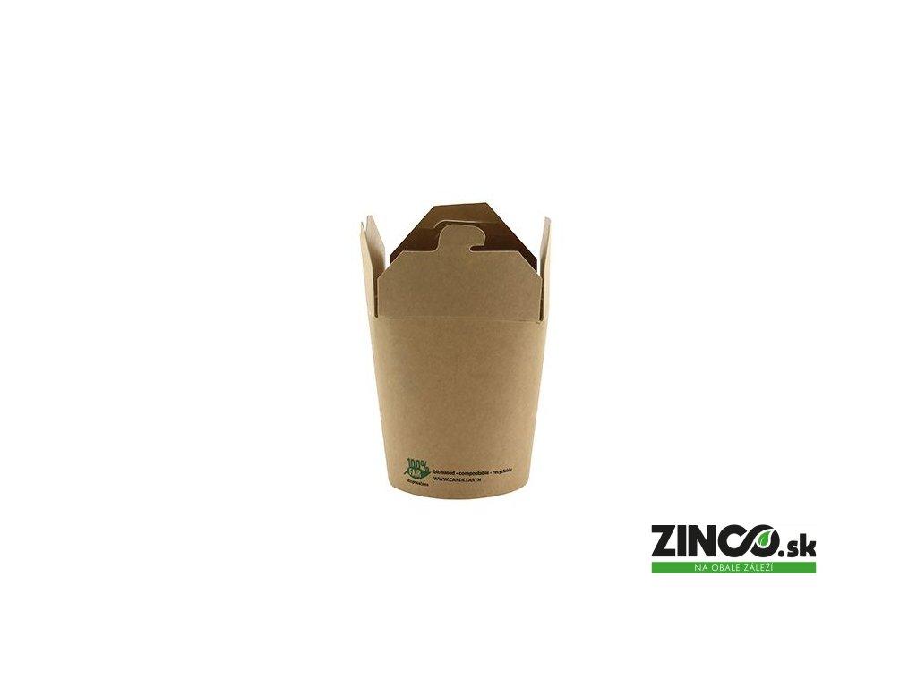 87268 – Gastro box Kraft, 230 ml