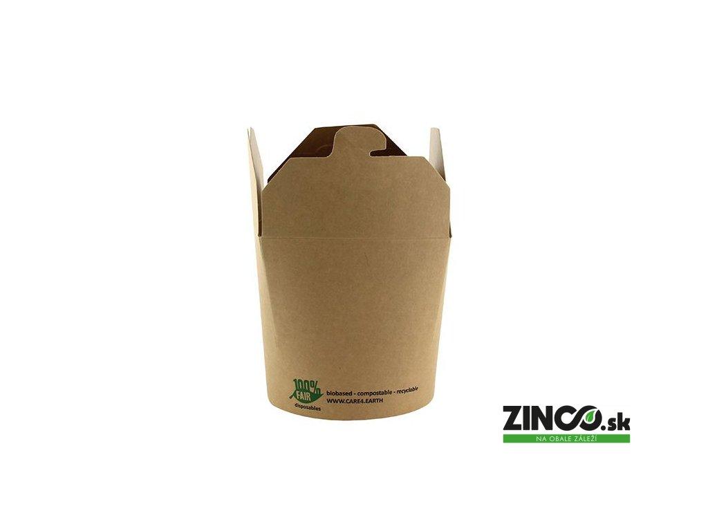 87269 – Gastro box Kraft, 760 ml