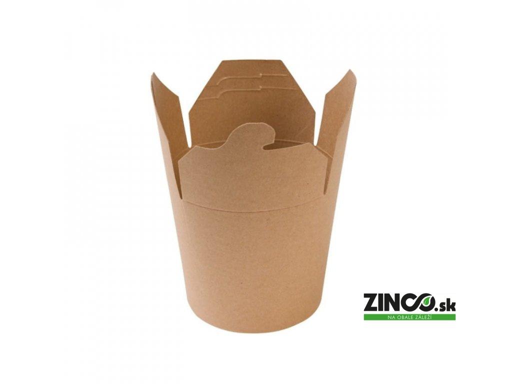 24586 – Gastro box Kraft, 750 ml