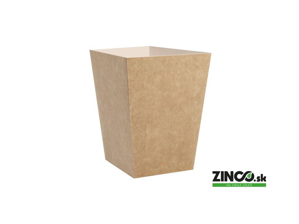 KP4.3 – Gastro box hranatý, 4,3l (50 ks)