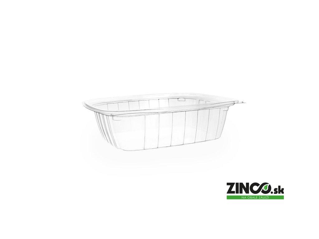 VKD 24 – Gastro box bioplastový, 750 ml MEDIUM
