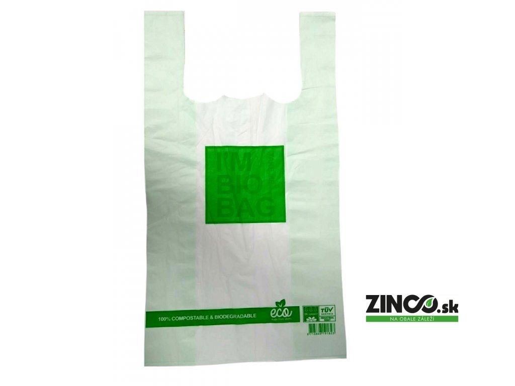 BIO05002 – Bio plastové tašky, 28x48 cm (500 ks)