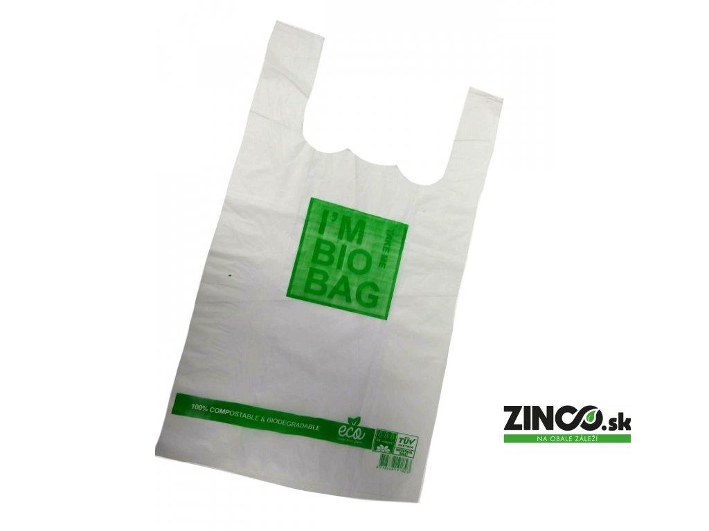 BIO05003 – Bio plastové tašky, 30x55 cm (500 ks)