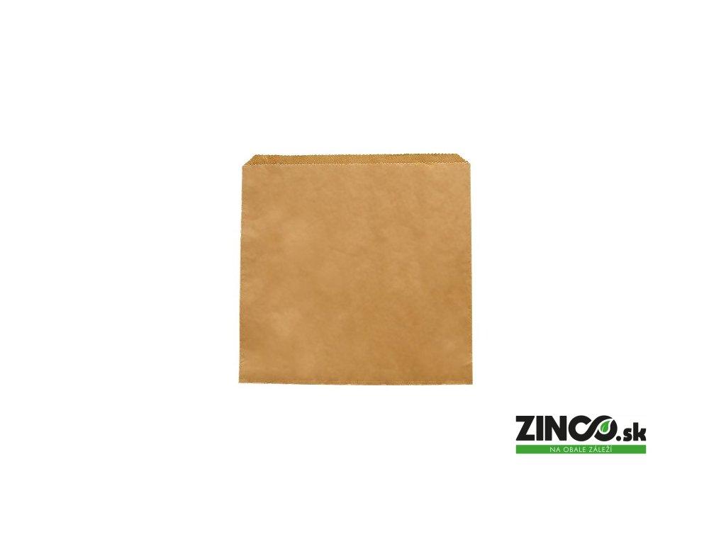 "201243S – Papierové vrecko ""Kraft"", 21,6x21,6 cm (1000 ks)"