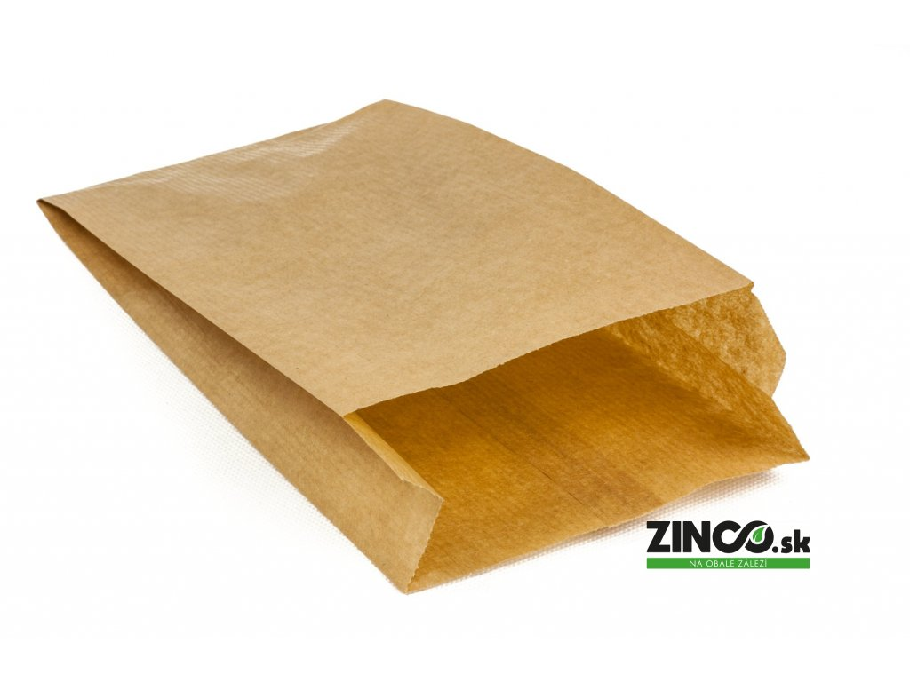 "18205 – Papierové vrecko ""Kraft"", 49x10x5 cm (1000 ks)"