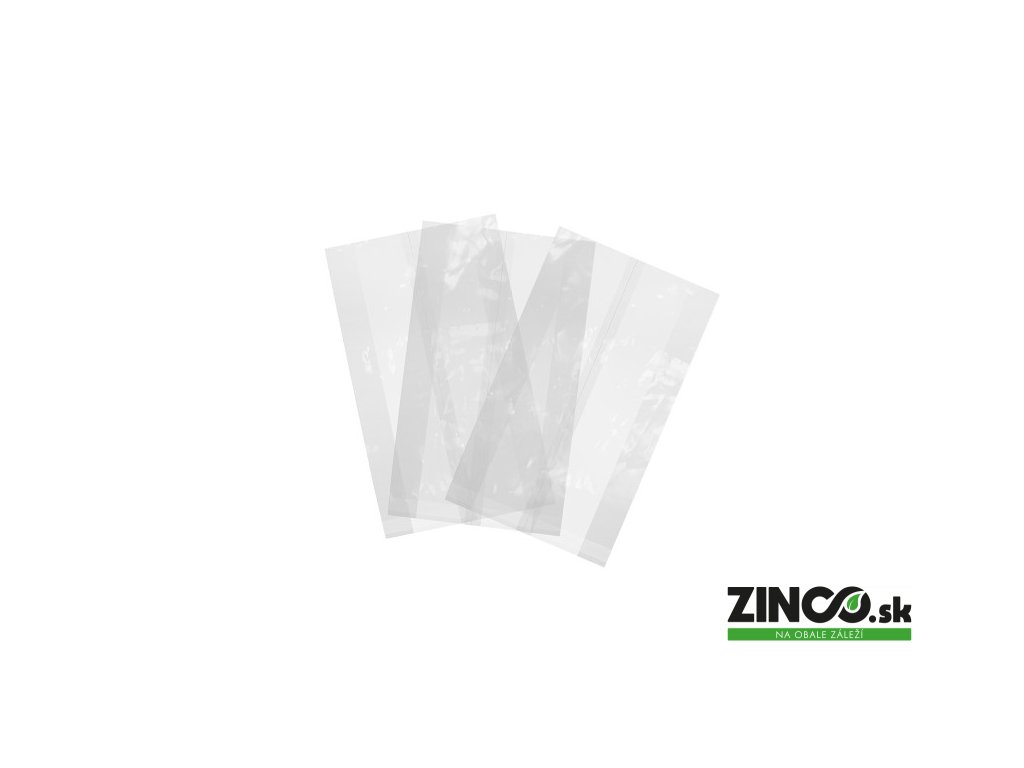 VGN6 – Priesvitné vrecká, 15x5x24 cm (1000 ks)