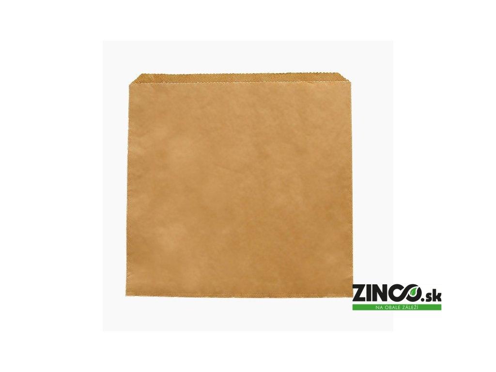 "201246S – Papierové vrecko ""Kraft"", 31,8x31,8 cm"