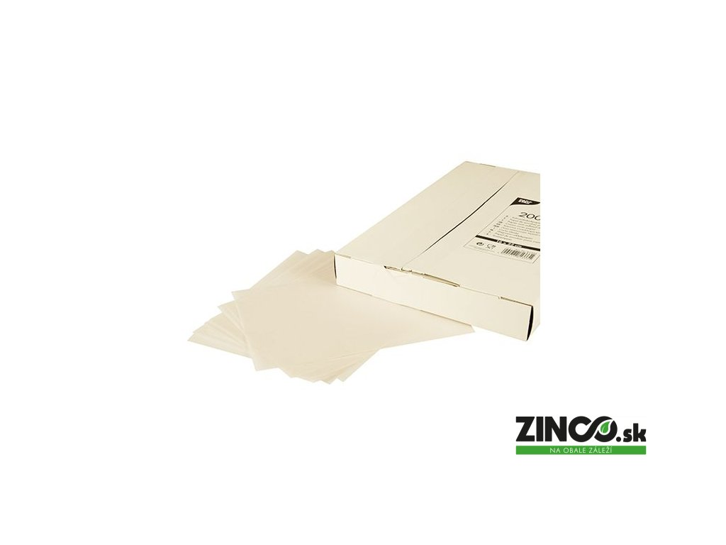 81333 – Nepremastiteľný papierový hárok, 22x16 cm (2000 ks)