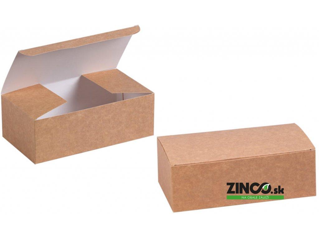 LBS160X100X60 – Univerzálny gastro box, 16x10x6 cm (100 ks)