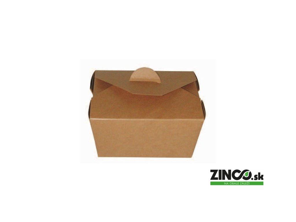 210BIO1K – Gastro box s klopami, 13x10,5x6,5 cm (25 ks)