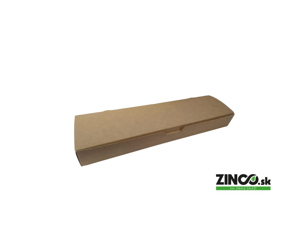 7503509 – Gastro box na bagetu/zapekanku, 35x9,5x4 cm