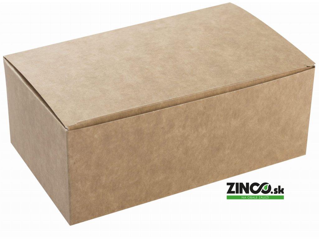 KR220X120X75 – Krabice na koláče, 22x12x7,5 cm, veľké
