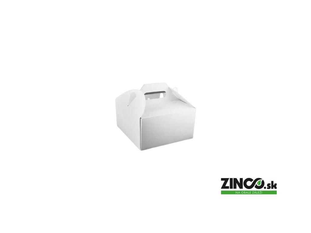 PKU18 – Krabice na tortu s úchytom, 18x18x10 cm
