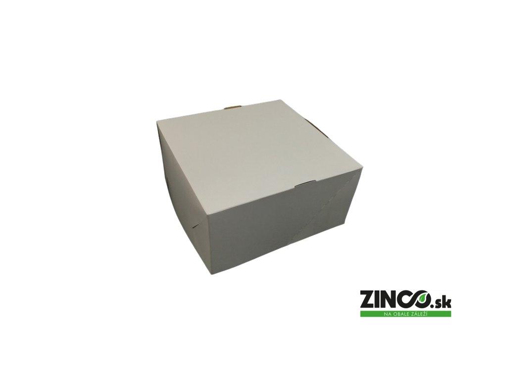 P691 – Krabice na tortu, 22x22x11 cm (50 ks)