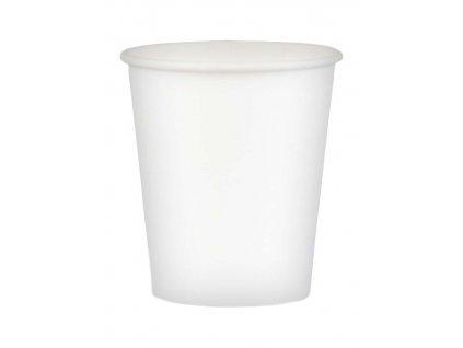 32595 – Papierové poháre na kávu biele, 250 ml (100 ks)