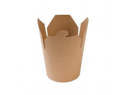 24585 – Gastro box Kraft, 500 ml