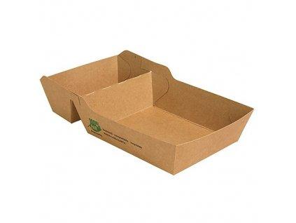 87257 – Papierová miska na hranolky, dvojdielna (80 ks)