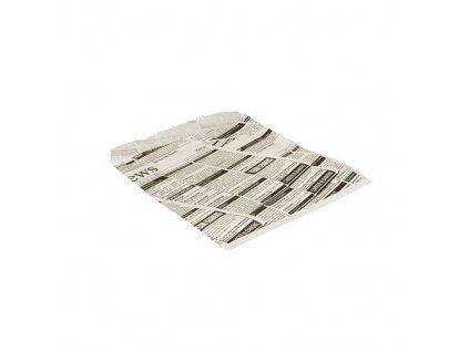 "85940 – Papierové vrecko ""Newspapers"", 16x18 cm"