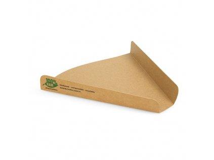 87258 – Papierová tácka na pizzu 17x18 cm