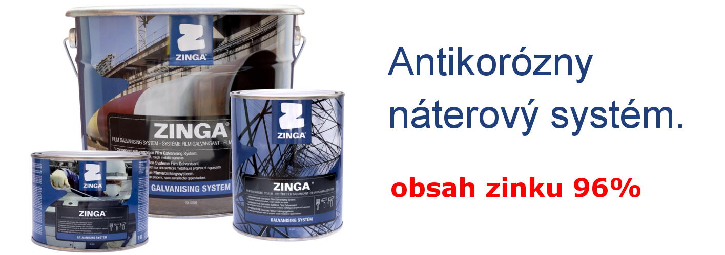 Zinga - antikorózny systém