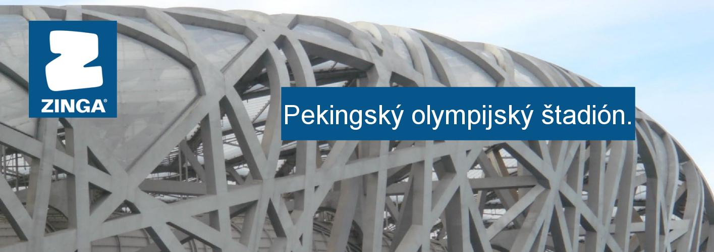 ZINGA - Pekingský olympijský štadión