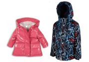 Dětské jarní bundy, kabáty a overaly