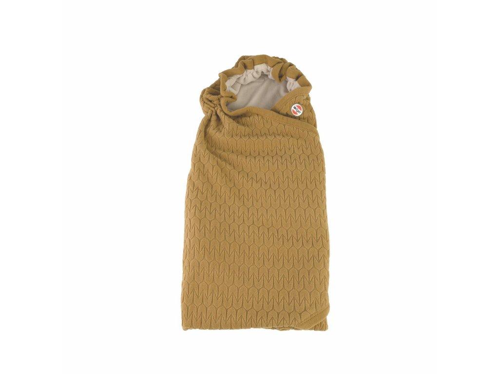 Zavinovačka LODGER Wrapper Fleece Empire Dark Honey 2021