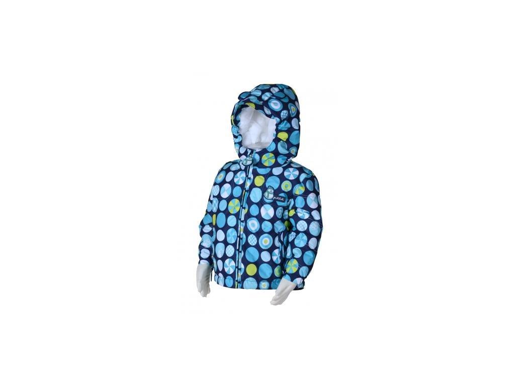 Zimní bunda pro nejmenší PIDILIDI PD0979-04- modrá 2020
