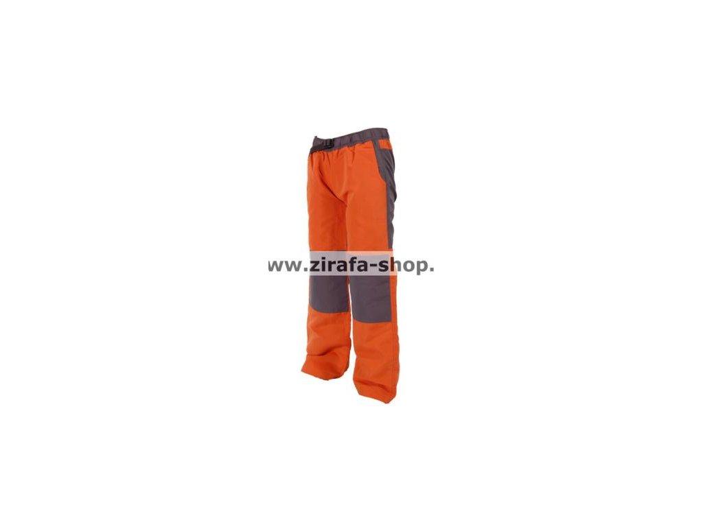 Kalhoty sportovní s bavlněnou podšívkou oranžové PIDILIDI PD0800-17 2019